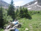Relaxing in the mountains